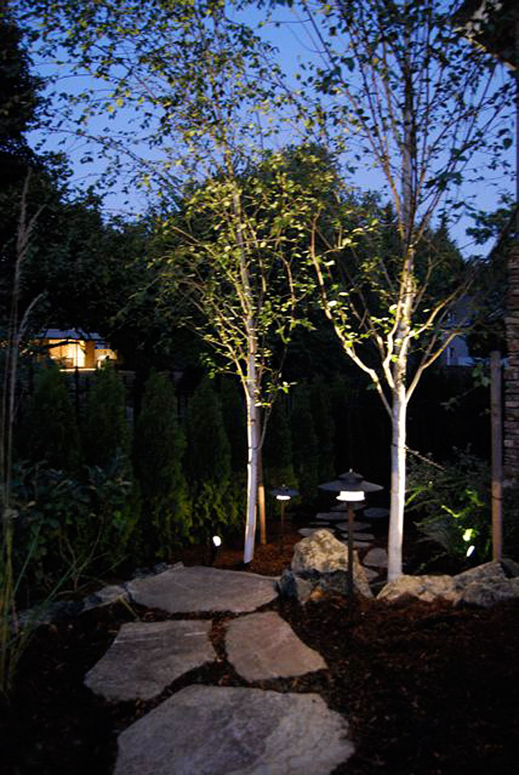 Landscaping Lights Installation : Please click on the below pictures to view larger version